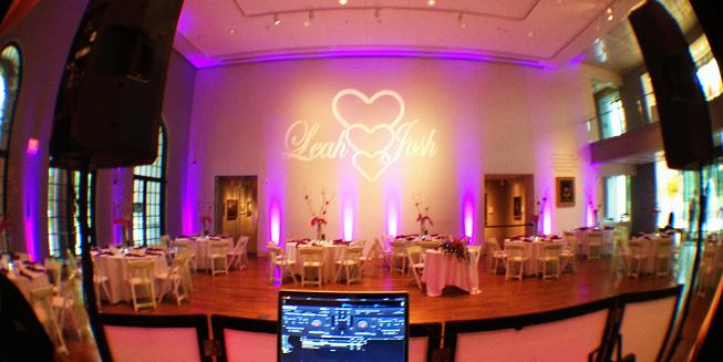 Uplighting Monogram